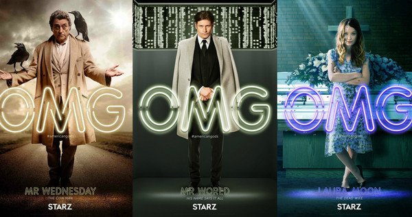 Neil Gaiman American Gods Romanzo Serie TV